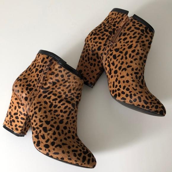 Shoemint Shoes - Leopard Print Boots